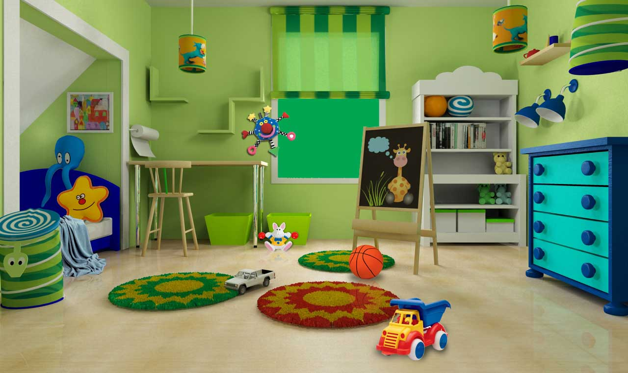 Καθαρισμός παιδικού δωματιου